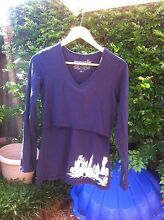 Momzelle long sleeve nursing top (size S) Highgate Hill Brisbane South West Preview