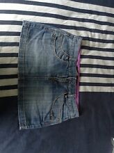 Mini denim skirt small size 10 Lutwyche Brisbane North East Preview