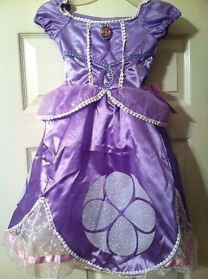 NWT! DISNEY WORLD Princess SOFIA Sophia Fancy Dress COSTUME Girls L 10/12](Princess Sophia Costumes)