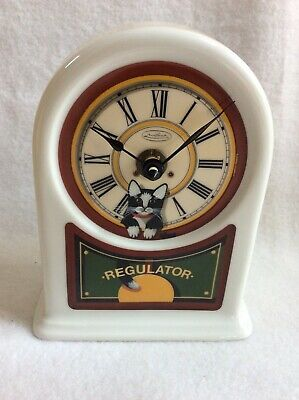 EUC Vintage Anna Perenna Uncle Tad's Clock Cat Thaddeus Krumeich Germany Numberd