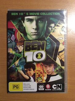 Brand New In Plastic Seal - Ben 10 - 5 Movies Collection DVD  Ashtonfield Maitland Area Preview