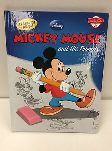 Book Learn to Draw Mickey Mouse & Friends