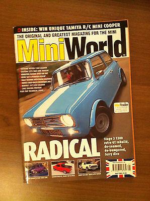 Mini World Magazine May 2002 1071 S Pick Up, Mk3 850, 1380 Clubman,Van & trailer