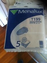 4 packets of vacuum cleaner bags - Menalux brand Upper Mount Gravatt Brisbane South East Preview