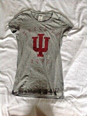 PINK Indiana University T-Shirt - size Small University Pink Shirt