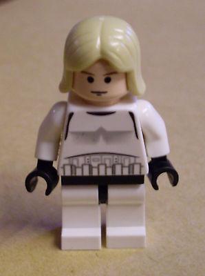 Lego Star Wars Luke Skywalker Stormtrooper outfit ( Strumtruppe Luk ) Figur Neu