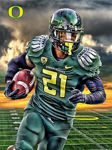 Oregon Ducks Football Poster