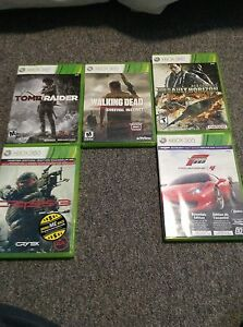 5 Xbox360 Games $20 for all $5 each Peterborough Peterborough Area image 1