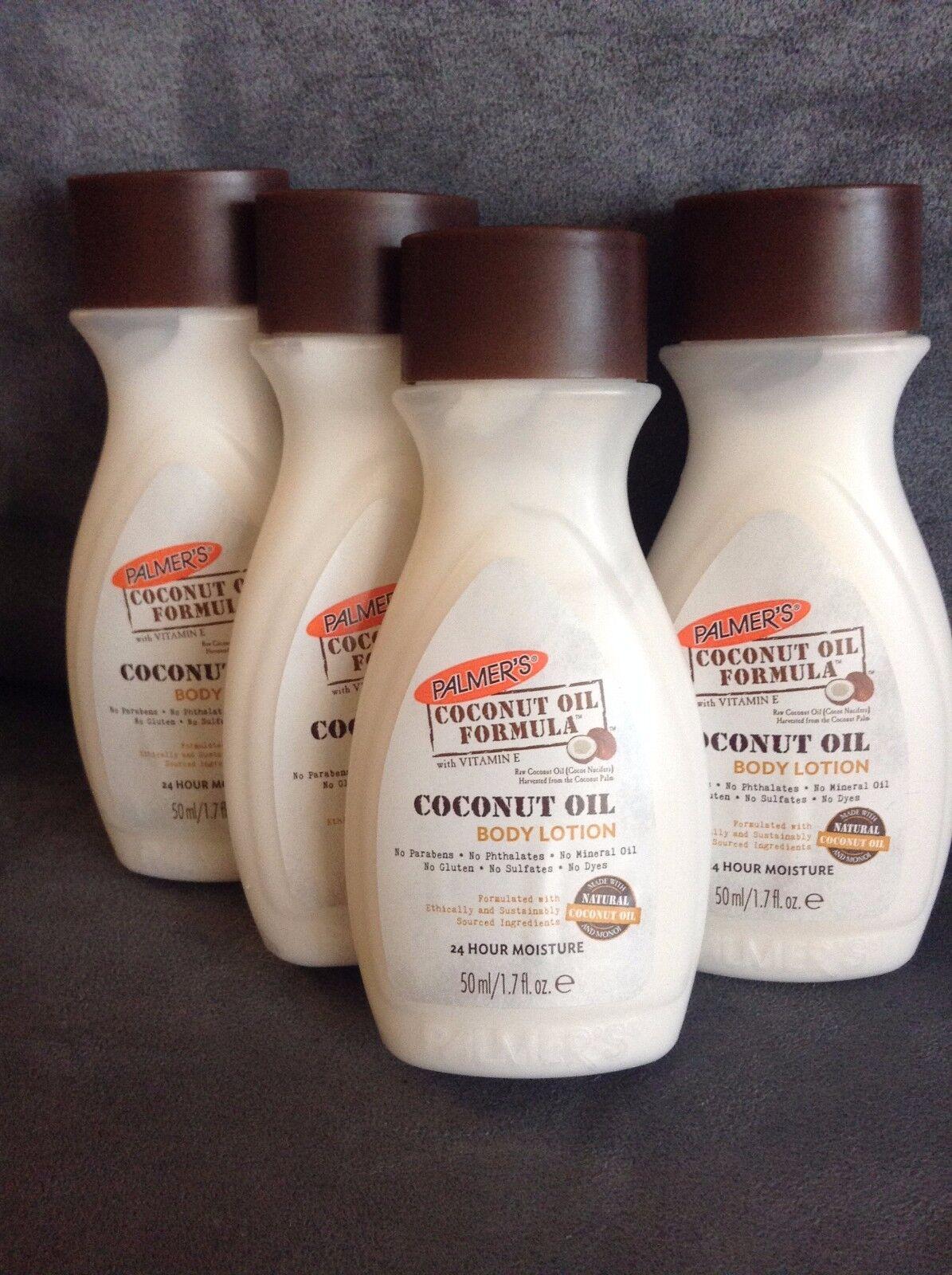 Palmer's Coconut Oil Body Lotion Trial Size 1.7 FL OZ - LOT
