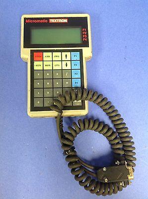 Textron Micromatic Computer Keypad Controller 262615