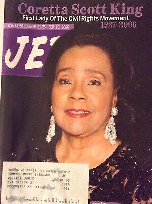 Jet Magazine Coretta Scott King February 20  2006 090417Nonrh