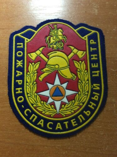 RUSSIA PATCH FIRE FIREMAN FIREFIGHTER - MOSCOW CAPITAL -  ORIGINAL!