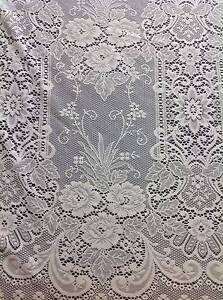 LACE CURTAIN-IVORY-300cm dp Unheaded-Empress-Filigree- QUALITY Adelaide Region Preview