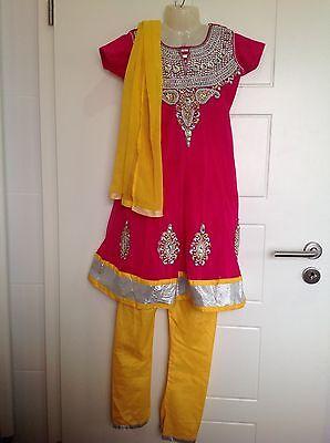 Bollywood Princessinkleid Kostüm Kindersari Shalwar QameezGeburtstagsfeier - Bollywood Kind Kostüm