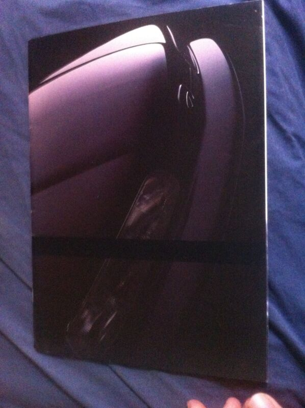 1989 Nissan Infinity Q45 and M30 USA Market Color Brochure Catalog Prospekt