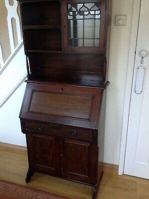 Antique Writing Bureau Cupboard cabinet