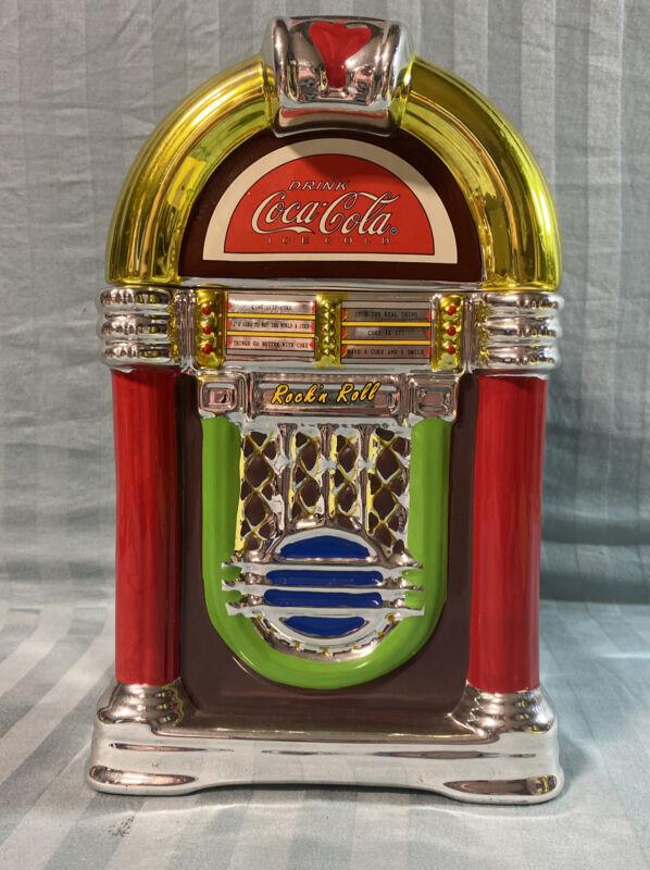 Gibson Coca Cola Cookie Jar Rock N Roll JukeBox