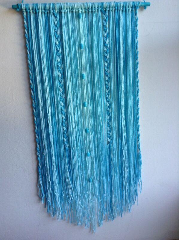 Macrame boho yarn art wall hanging Home Decore hand made