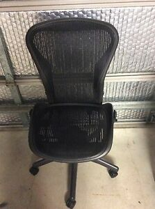 Genuine Herman Miller Aeron Chair Size B Kellyville Ridge Blacktown Area Preview