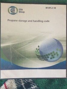 Propane storage and handling code