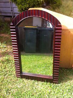 Antique/Vintage Large Arched Mirror