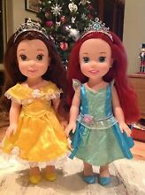 Disney Princess Toddler Dolls, Ariel and Belle Rockingham Rockingham Area Preview