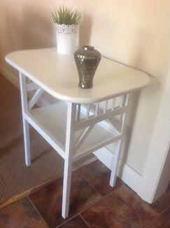Vintage Wooden Hall / Side Table Preston Darebin Area Preview