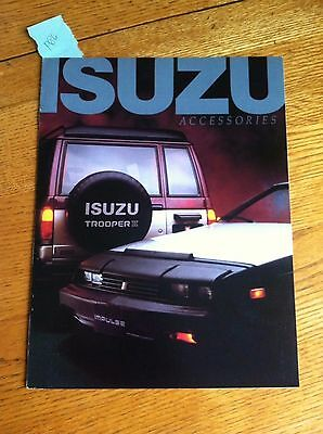 1985 ISUZU TROOPER IMPULSE ACCESSORIES SALES BROCHURE, ORIGINAL