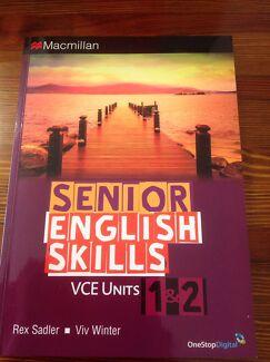 Year 12 Senior English Skills VCE 1&2