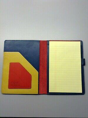Conrad Bell Usa Leather Folder Multi Color Portfolio