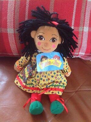 Rosie & Jim - Plush Beanie Rosie Canal Boat Narrowboat Rag Doll - Tag!