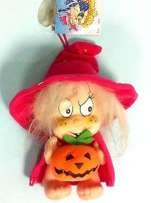 Halloween Dolcetto Scherzetto (+ peluche strega con zucca dolcetto scherzetto happy Halloween horror carnevale )