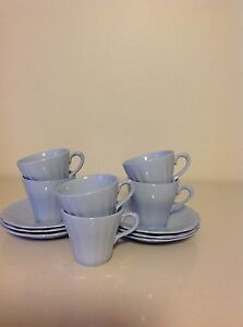 J & G Meakin blue coffee set Burton Salisbury Area Preview