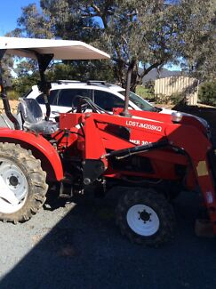 2007 Siromer 4WD Tractor with 2 In 1 Front End Loader Royalla Queanbeyan Area Preview