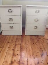 2 X Bedside tables Lane Cove North Lane Cove Area Preview