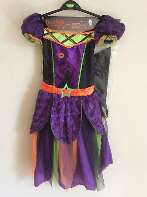 Girl's TU Halloween Witch Costume, Dress & Hat, Age 11-12 Years, BNWT](Girl Halloween Costumes Age 11)