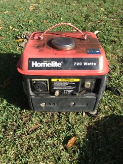 Home lite two stroke generator