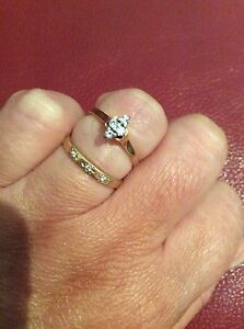 Beautiful  bridal set rings Batemans Bay Eurobodalla Area Preview