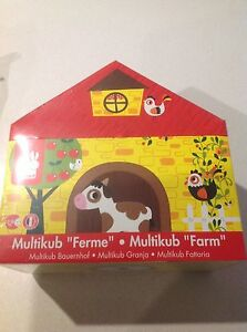 JANOD MULTIKUB STACKING FARM BRAND NEW IN BOX Fulham Gardens Charles Sturt Area Preview
