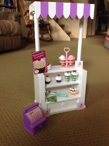 "18"" Doll ice cream stand and accessories!"