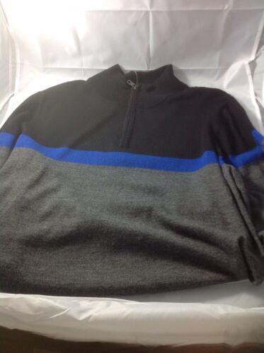 Apt 9 Mens Quarter zip Sweater sz L