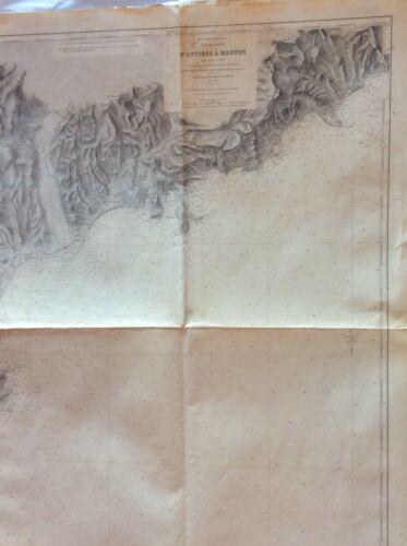 Vintage Nautical Chart D
