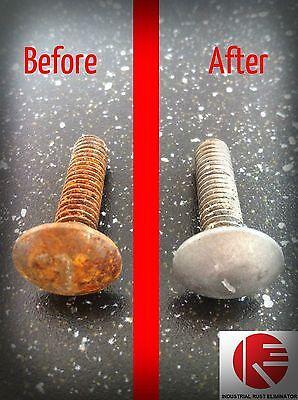 Industrial Rust Eliminator concentrate 1 Gallon compare Evapo-rust Metal Rescue
