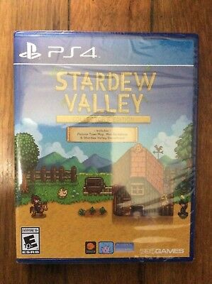 Stardew Valley  Collectors Edition  Sony Playstation 4  2017  Brand New