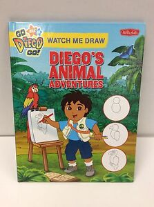 Book Watch Me Draw Diego's Animal Adventures