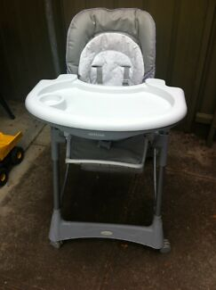 Steelcraft Messina deluxe Hi-Lo Highchair
