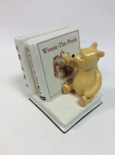 border fine arts winnie the pooh bookend statue
