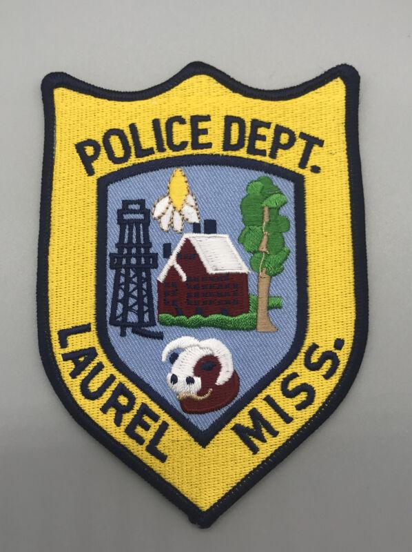 LAUREL MISSISSIPPI MS POLICE PATCH