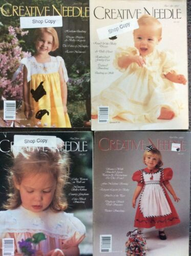 CREATIVE NEEDLE MAGAZINE- YEAR 1997 - 4 CHOICES