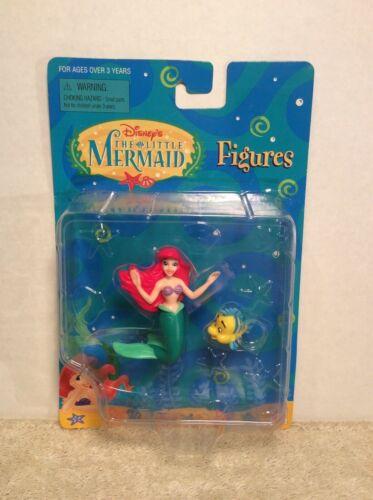 Disney's The Little Mermaid Figures Ariel & Flounder by Mattel 65918
